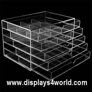 Wholesale makeup: Acrylic Drawer Box,Acrylic Makeup Drawer,Acrylic Storage Drawer Box