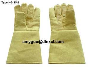 Wholesale high temperature kiln: Kevlar Gloves HG-S5-2