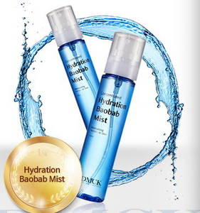 Wholesale regenerated cotton: DMCK Clean AC & Hydration Baobab Mist - 2 Types of 2in1 Toner & Mist