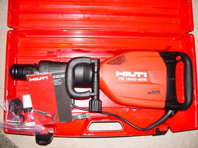 Hilti Te 1000 Avr Demolition Hammer Package Id 6231873