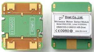 Microwave Motion Sensor Module X Band I