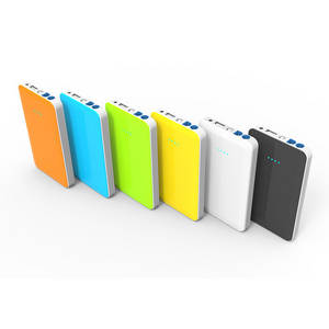 Wholesale cell phone batteries: 10000mah External Power Bank Backup Dual USB Battery Charger for Cell Phone Grey