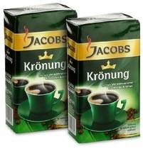 Wholesale packing box: Jacobs Kronung Ground Coffee/ Jacobs Cronat Instant Coffee