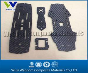 Wholesale Toy Parts: Carbon Fiber CNC Cut for Drone Part