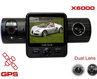 Sell Dual Camera Driving Video Recorder X6000