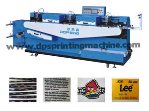 Wholesale care label: Multicolor Apparel Label/Care Label/Garment Textile Label Screen Printing Machine