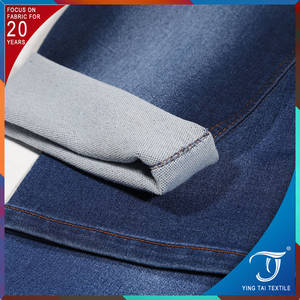 Wholesale 10 inch mid: Nice Handfeel Enough for Ladies Jean Fabric / Terry Denim Jean Fabric