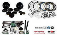 Parts for Hydraulic Breaker - Seal Kit/ Diaphragm/ Piston/ Cylinder/ Thrust Bush& Ring/ Front Cover