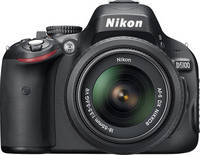 Nikon D5100 16.2-Megapixel DSLR Camera with 18-55mm VR Lens