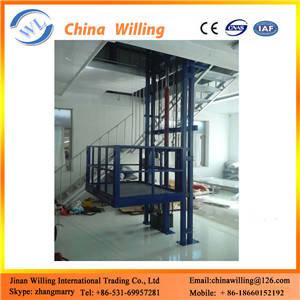Wholesale guide rail: Guide Rail Elevators Hydraulic Warehouse Cargo Lift