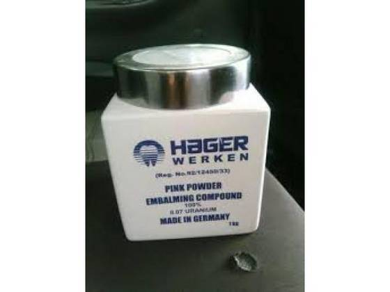 Financial Equipment: Sell Hager Embalming Compound Germany Product for sale +27787930326