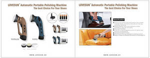 Wholesale lighting: LOVESUN Automatic Portable Polishing Machine for Your Shoes