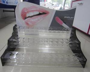 Wholesale acrylic cosmetics display rack: Acrylic Display Rack, Cosmetic Display Stand