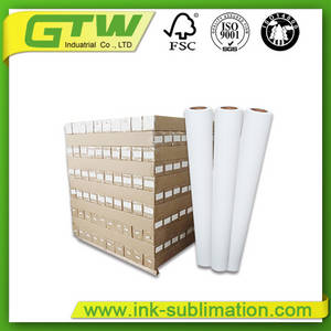 Wholesale table covers: 88g Jumbo Sublimation Paper Roll for Textiles/Apparel/Garment