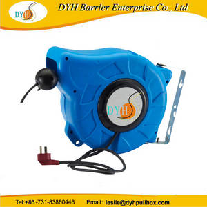Wholesale power cord: 220V AC Power Portable Retractable Extension Cord Reel