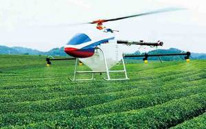 Wholesale drone: 17KG Crop Spray Helicopter Type Unmanned Aircraft UAV Drone Agriculture Sprayer