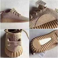 Sell Men  Women Breathable yeezy Boost 350 Oxford Tan casual shoes