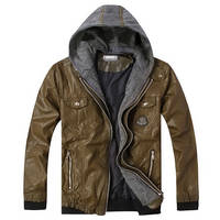 Winter Men Leather Clothing Fur Clothing