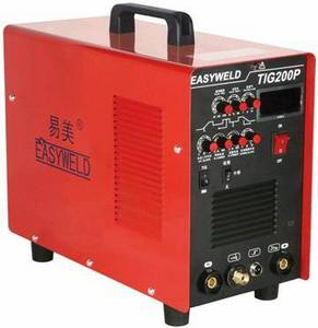 Wholesale p: EasyTig 200P Inverter DC Pluse TIG/MMA Welding Machine