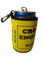 Custom Can Cooler with Carabiner and Magnet