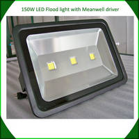 Sell 150w LED flood light manufacturer in China meanwell driver bridgelux chip