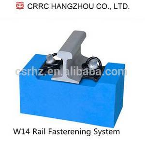 Wholesale Train Parts: W-14 Rail Fasterening System Railway Fastener Manufacturer