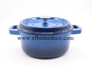 Wholesale Cookware Sets: Round Enamel Cast Iron Casserole