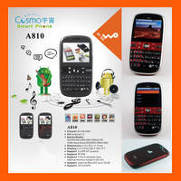 Sell WCDMA 3G and GSM Android 2.1 Unlocked smart Mobile Phone