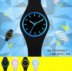 Wholesale silicone watch: luminous Silicone Fashion Cool Design Electron Watches