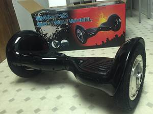Wholesale led lighting: 10'' Tire Smart Self-balancing Two-wheel Electric Scooter with LED Light