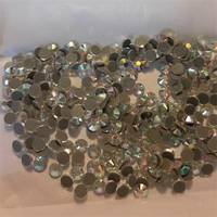 Sell DMC machine cut rhinestone/ crystal stone iron on clothing