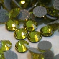 Sell DMC machine cut hot fix rhinestone crystal iron on clothing