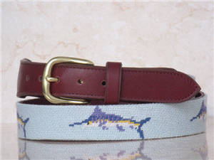 Wholesale Belts: Fashion Needlepoint Leather Belts for Men