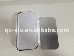 Wholesale china container: China Supplier Aluminum Foil Container with Paper Lid