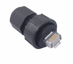 Wholesale Other Networking Devices: Waterproof RJ45 Plug Shielded Type, IP67