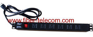 Wholesale socket: USA Type PDU Socket 6 Ways with Power Cable