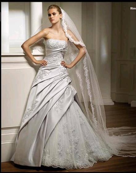 2009 Fashionable Wedding Dress Bridal Gown PV987 Id 3435544 Product Details