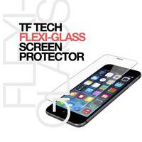 Flexi-Glass 100% Shatter-Free Smartphone Screen Protector Made of PC Base with Glass Layer