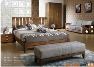 bedding sets: Sell Modern Design Bed Room Teak Wood Bedroom Set Furniture Foshan