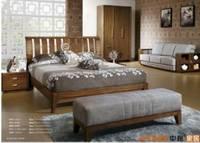 Sell Modern Design Bed Room Teak Wood Bedroom Set Furniture Foshan