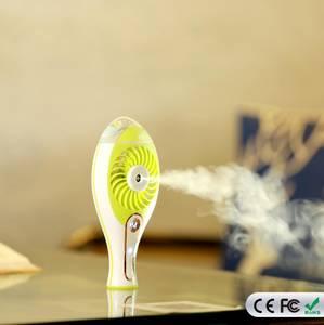 Wholesale cooling fan: Personal Water Spray Fan Handheld Mini USB Beauty Misting Fan with Cooling Mist Humidifier
