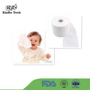 Wholesale Nonwoven Fabric: Pure Cotton Spunlace Nonwoven for Baby Wipe