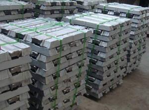 Wholesale alkaline reducer: Zink Barren 99.995% Zinc Ingot