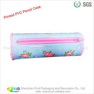 Wholesale makeup pencil: Printed PVC Pencil Bag PVC Makeup Bag