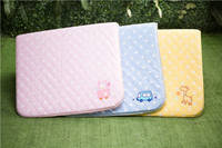 Baby Embroidery Pillow/Print Quilt/Quilted Skidproof Mattress/Quilted Mattress Protector
