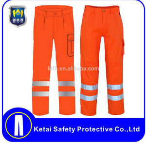 Wholesale reflective tape: Reflective Work Pants with 5cm or 3cm Reflective Tape