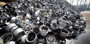 Wholesale used car: Aluminum Wheel Scrap