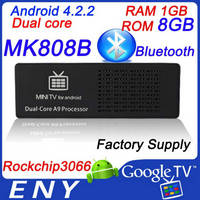 MK808 Android 4.1 TV HDMI Dongle Dual Core Factory