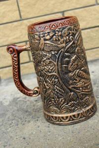 Wholesale ceramic mug: Ceramic Beer Mug Hunt