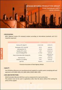 Wholesale puree: Bitumen 40/50